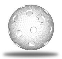 Floorball Wettkampfball weiß